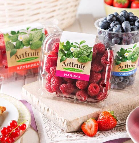 Клейкая этикетка для фруктов