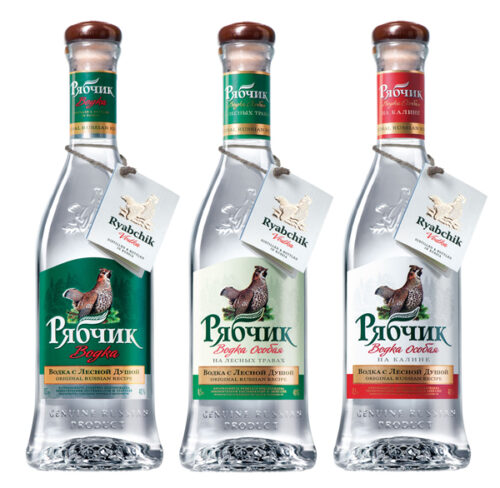 Этикетки для водочных бутылок