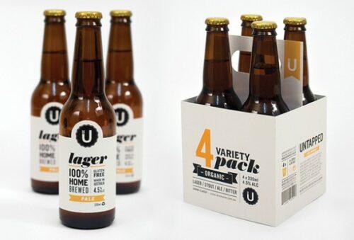 этикетка для бутылки с пивом