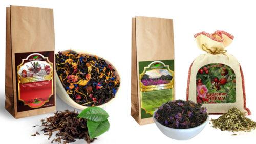 Печать этикеток для кофе и чая