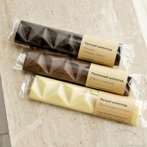 Дизайнерские этикетки для шоколада на заказ
