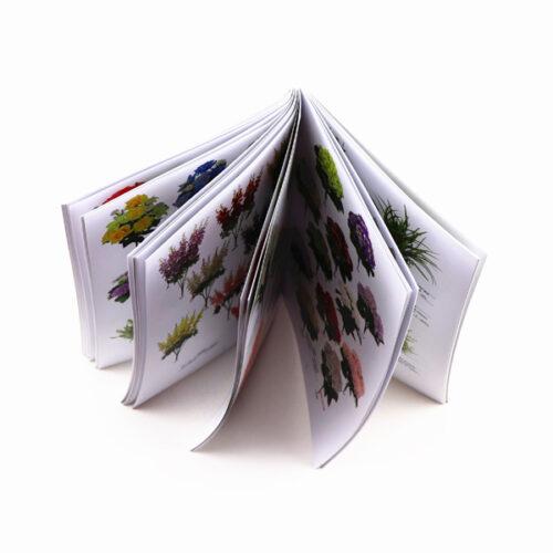 Печать этикеток-книжек